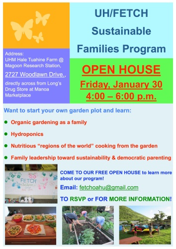 2015 family open house