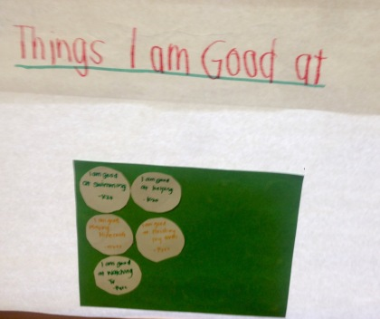 Things Im am Good At Poster