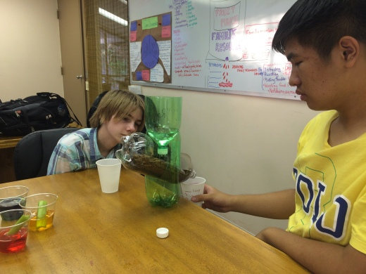 Observing soil erosion model